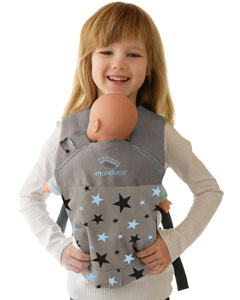 Manduca Doll Carrier Limited Starlets blue